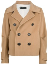 DSquared DSQUARED2 double breasted short coat