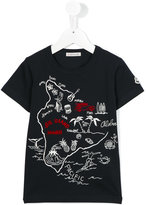 Moncler map print T-shirt - kids - Cotton - 6 yrs