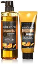 Clairol Hair Food Moisture Shampoo & Moisture Hair Mask Set Infused With Honey Apricot Fragrance