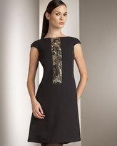 Platinum Label Beaded Sheath Dress