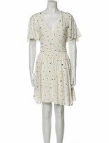 Thumbnail for your product : Rebecca Minkoff Printed Mini Dress w/ Tags White