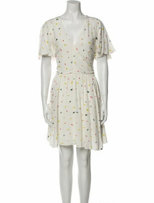 Rebecca Minkoff Printed Mini Dress w/ Tags White