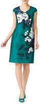 Jacques Vert Printed Shantung A-line Dress