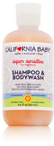 California Baby Super Sensitive Shampoo and Body Wash