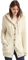 Gap Boucle hooded cardigan