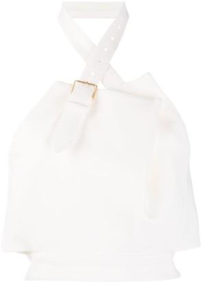 Proenza Schouler Halter Neck Cropped Top
