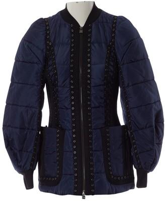 Herve Leger Navy Coat for Women