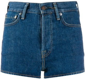 Acne Studios high waisted denim shorts