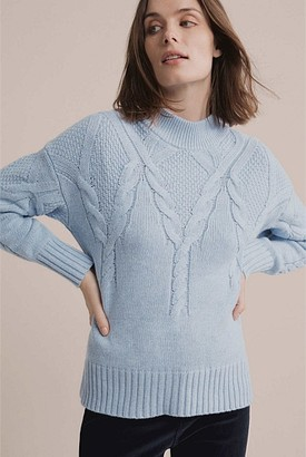 Witchery Cable Transition Knit