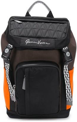 Versace V-Code backpack