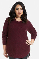 Fashion to Figure Dale Side Zip Sweater