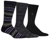 Polo Ralph Lauren Three-Pack Socks