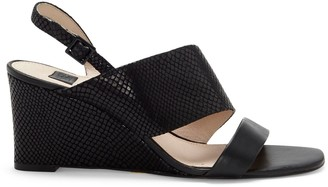 Louise et Cie Quarza Asymmetrical-strap Wedge Sandal