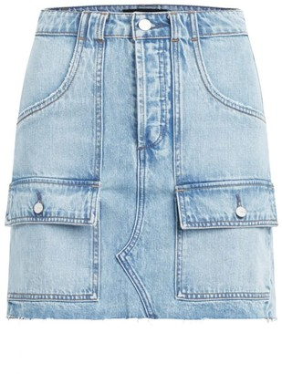 Joe's Jeans High-Rise Utility Denim Skirt