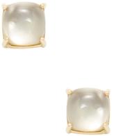 Roberto Coin Shanghai 18K Yellow Gold, Smoky Quartz & Mother of Pearl Circle Stud Earrings