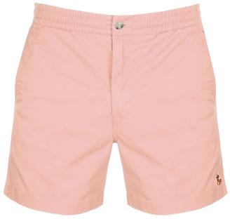Ralph Lauren Classic Fit Shorts Orange