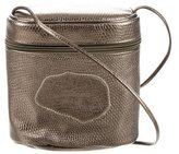 Carlos Falchi Metallic Karung Crossbody Bag