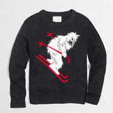 J.Crew Factory Boys' intarsia yeti skiing sweater
