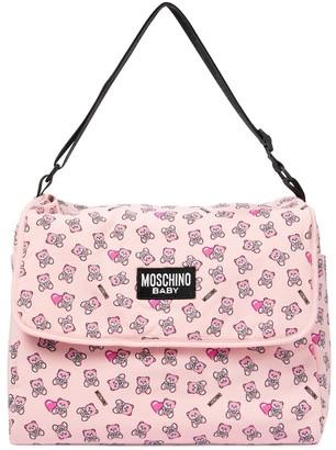 MOSCHINO BAMBINO Baby changing bag with mat