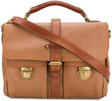 Marc Jacobs flap pockets laptop bag