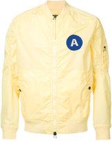 MHI chest patch bomber jacket - men - Nylon - L
