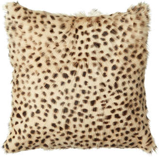 OKA Chyangra Goat Hair Cushion Cover - Cheetah