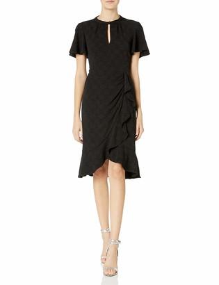 Nanette Lepore Women's Flirty Flutter Dress