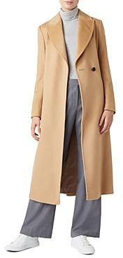 Hobbs London Olivia Belted Wool Coat