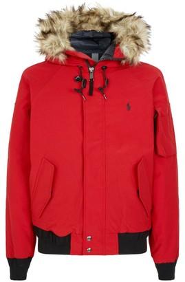 Polo Ralph Lauren Faux Fur Trim Short Jacket