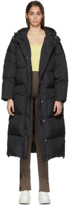 Stand Studio Black Down Ally Coat