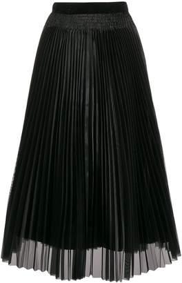 Forte Forte high-waisted pleated skirt