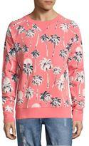 Wesc Marvin Hawaii-Print French Terry Crewneck Sweatshirt