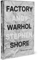 Phaidon Factory: Andy Warhol Stephen Shore Hardcover Book - White