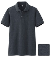 Uniqlo Men Dry Pique Short Sleeve Polo Shirt (size Xs)