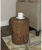 Ash CAdric Accent Stool Union Rustic Finish Brown
