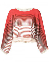 Sonia Rykiel striped cropped top