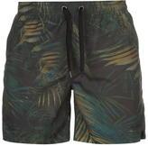 Firetrap Blackseal Tropical Swim Shorts