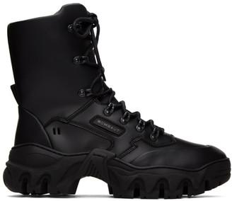 Rombaut Black Boccaccio II Mid Lace-Up Boots