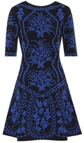 Oscar de la Renta Knitted jacquard dress