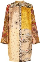 Thumbnail for your product : La Prestic Ouiston Printed silk-twill shirt dress