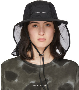MONCLER GENIUS 6 Moncler 1017 ALYX 9SM Black Visor Hat