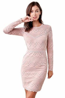 Sugar Lips Sugarlips Women's Flirting Fate Lace Bodycon Dress