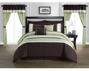 Chic Home Katrin 20-Pc. Queen Comforter Set Bedding