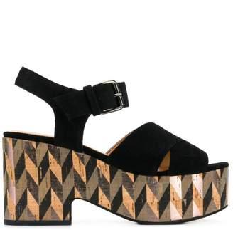 Strategia Susy platform sandals
