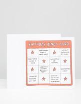 Veronica Dearly Birthday Bingo Card