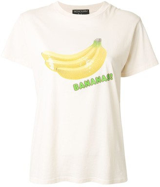 Monogram Bananas print T-shirt