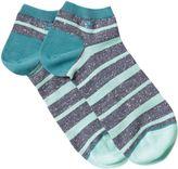 White Stuff Fleck Stripe Ankle Sock