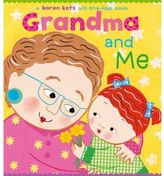 Simon & Schuster Grandma and Me Lift-the-Flap Board Book by Karen Katz