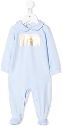 Versace Long-Sleeved Logo Pajamas