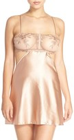 La Perla Women's Embroidered Silk Chemise